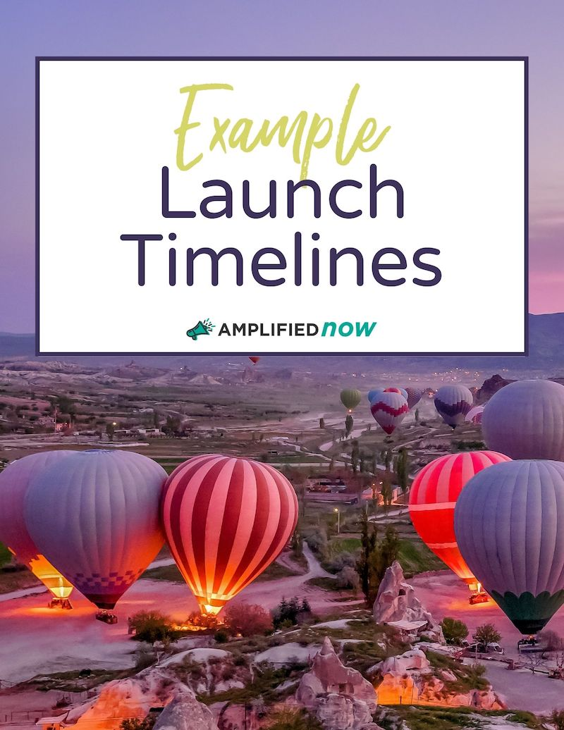 Example Launch Timelines
