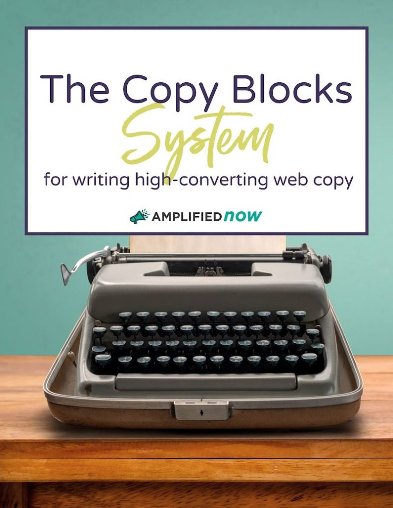 The Copy Blocks System Cover