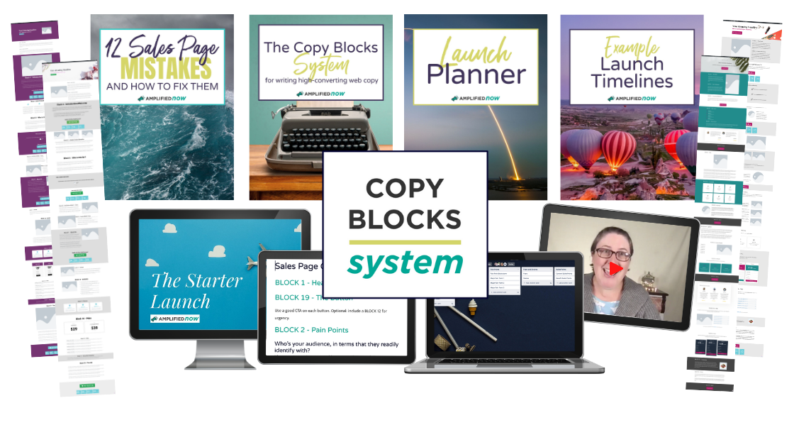 The Copy Block System components