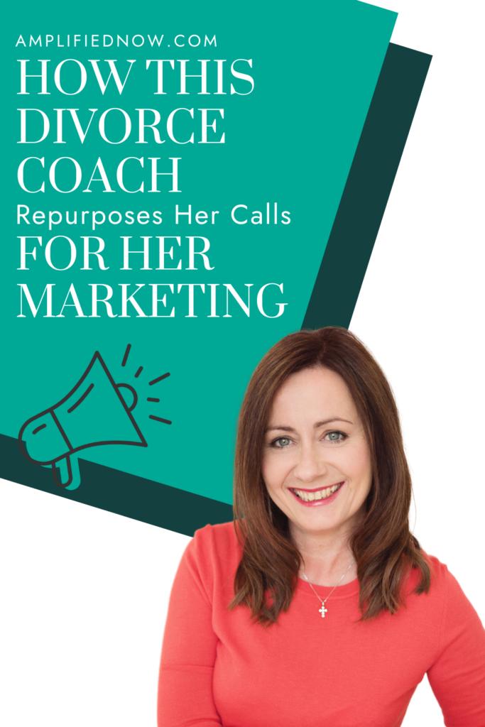 Divorce Coach repurposes video content