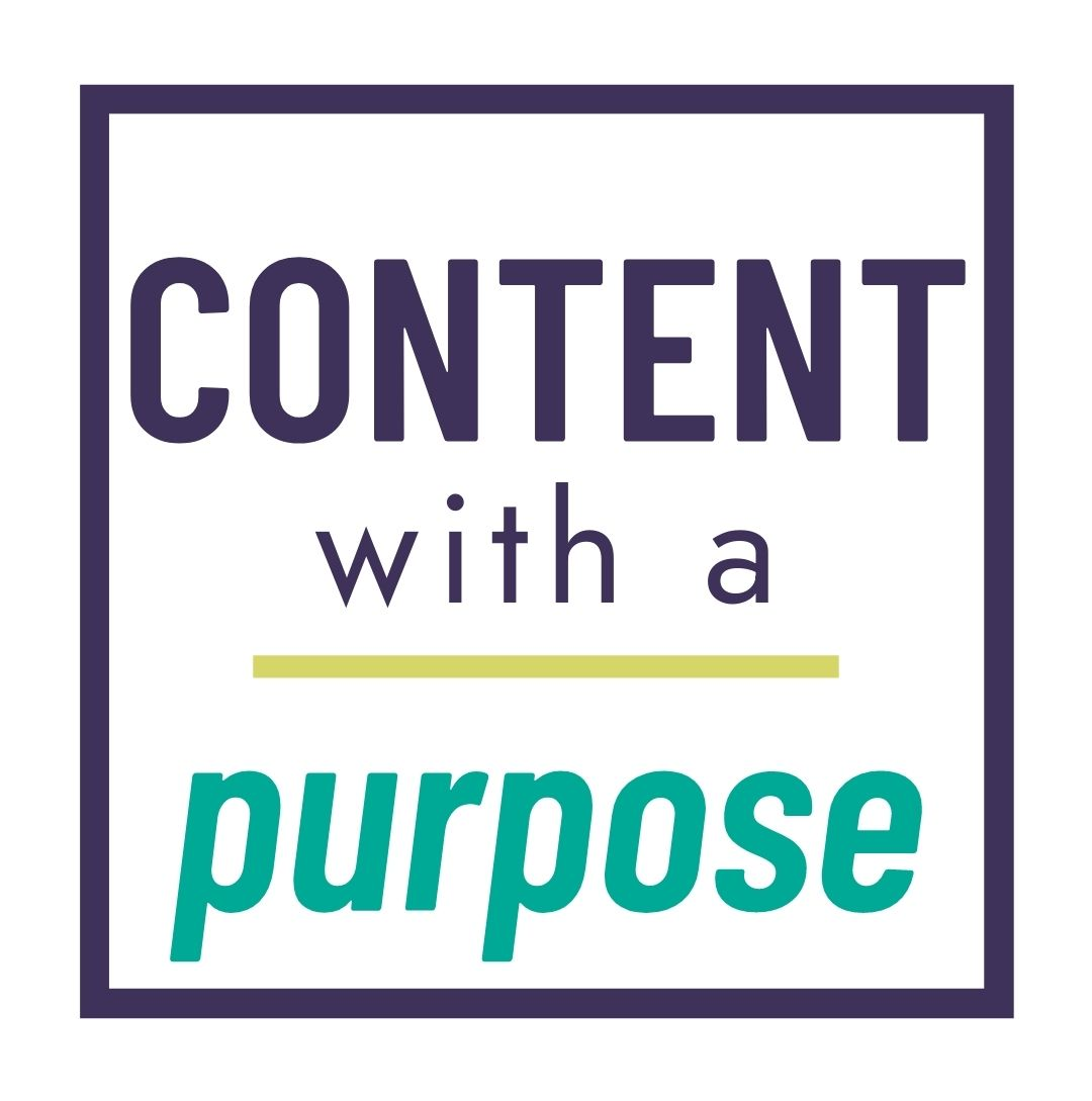 Content With a Purpose logo