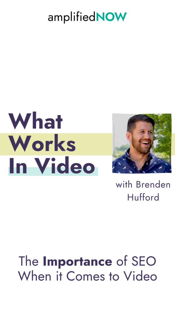 The importance of SEO when it comes to video